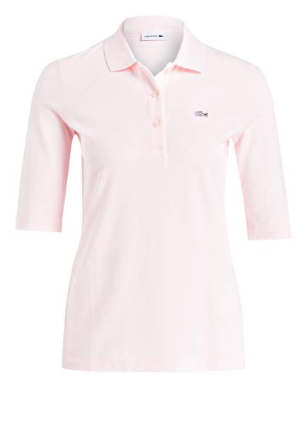 LACOSTE Piqué-Poloshirt mit 3/4-Arm, Farbe: ROSE (Bild 1)
