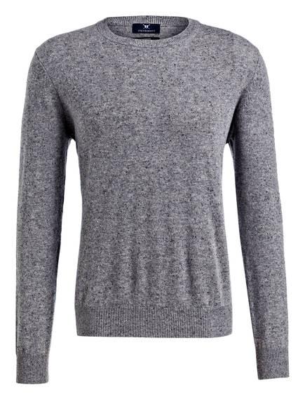 STROKESMAN'S Cashmere-Pullover, Farbe: GRAU MELIERT (Bild 1)