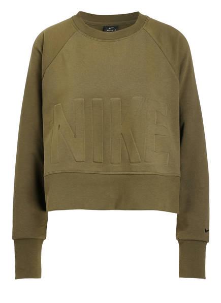 Nike Cropped-Sweatshirt VERSA CREW, Farbe: OLIV (Bild 1)