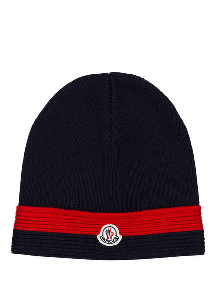MONCLER Mütze, Farbe: NAVY (Bild 1)