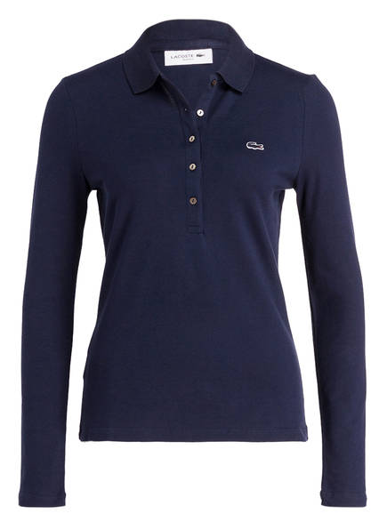 LACOSTE Piqué-Poloshirt, Farbe: DUNKELBLAU (Bild 1)