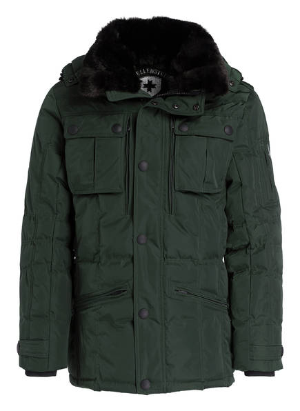 WELLENSTEYN Fieldjacket SNOWDRIFT, Farbe: DUNKELGRÜN (Bild 1)