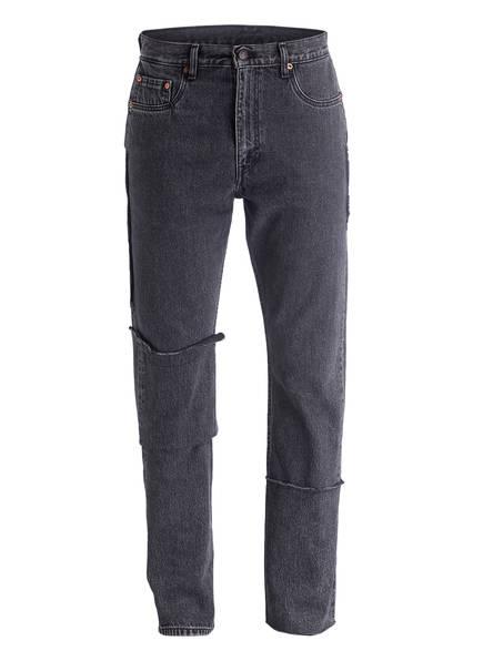VETEMENTS Jeans Straight Fit , Farbe: SCHWARZ (Bild 1)