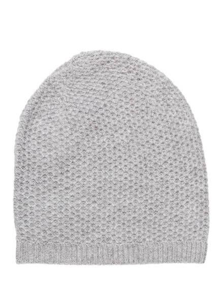 REPEAT Cashmere-Mütze, Farbe: HELLGRAU (Bild 1)