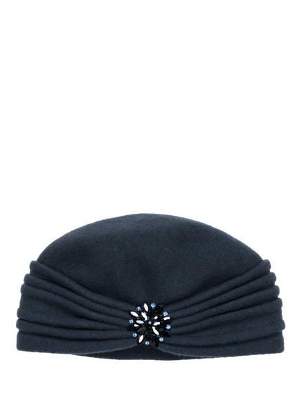 THOMAS RATH BLUE LABEL Mütze mit Schmucksteinbesatz, Farbe: PETROL (Bild 1)