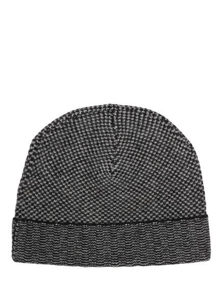 Chas Cashmere-Mütze, Farbe: GRAU/ SCHWARZ (Bild 1)