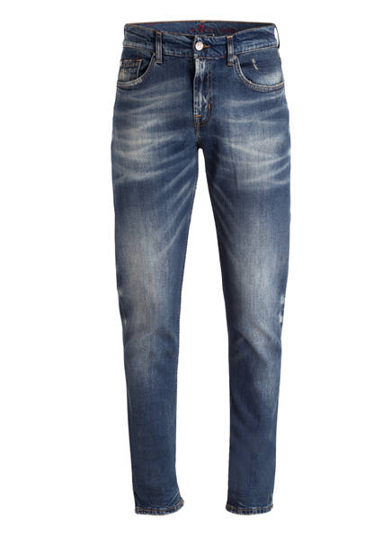 7 for all mankind Jeans KAYDEN Slim Straight Fit , Farbe: DARKBLUE WASHED (Bild 1)
