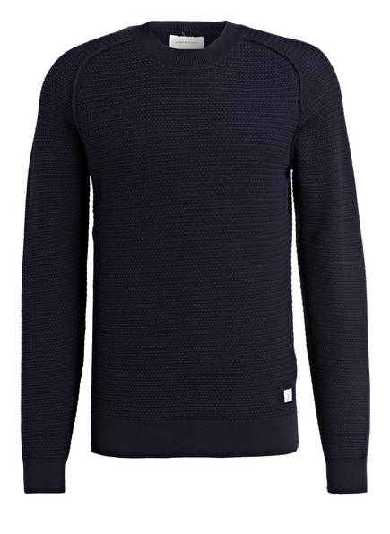 ARMEDANGELS Pullover ENNE, Farbe: DUNKELBLAU (Bild 1)