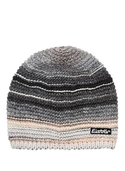 Eisbär Mütze KUNITA, Farbe: GRAU/ SCHWARZ/ BEIGE (Bild 1)