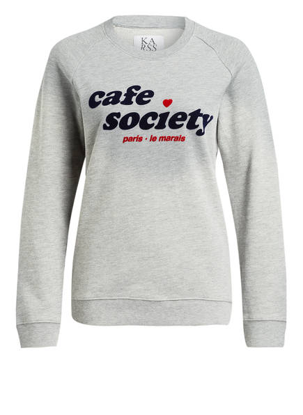 ZOE KARSSEN Sweatshirt, Farbe: GRAU MELIERT (Bild 1)
