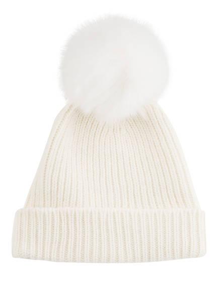 HEADLESS Mütze mit Kunstfellbommel, Farbe: WEISS (Bild 1)