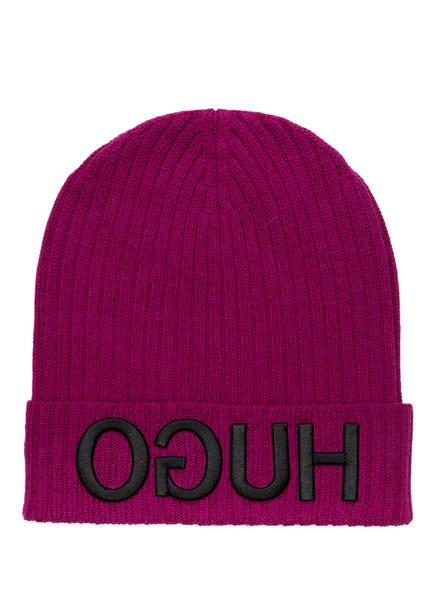 HUGO Mütze , Farbe: FUCHSIA (Bild 1)
