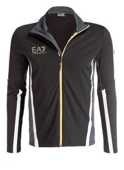 EA7 EMPORIO ARMANI Unterziehjacke, Farbe: SCHWARZ (Bild 1)