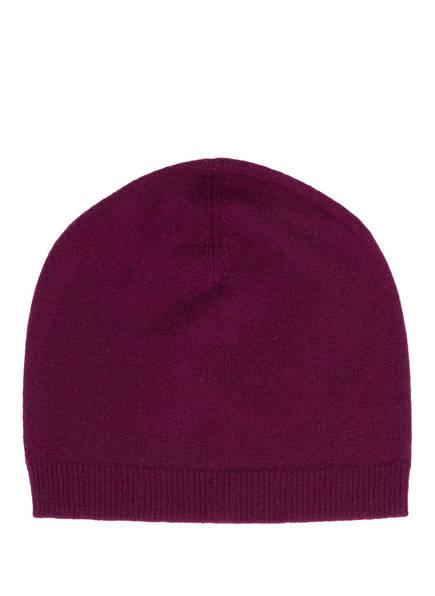 lilienfels Cashmere-Mütze, Farbe: PFLAUME  (Bild 1)