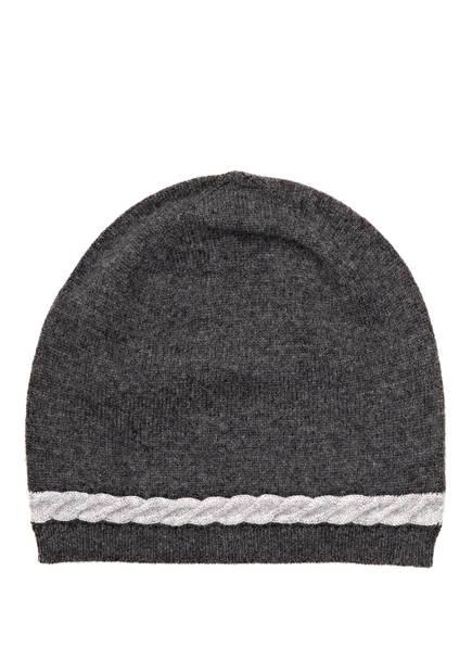 lilienfels Cashmere-Mütze, Farbe: ANTHRAZIT MELIERT (Bild 1)