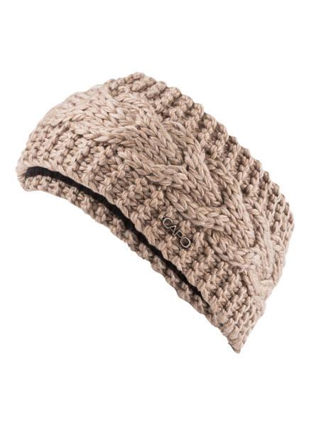 CAPO Stirnband FLORA , Farbe: TAUPE (Bild 1)