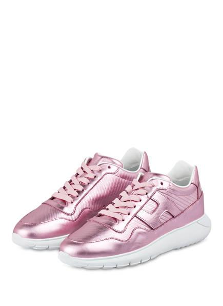 HOGAN Plateau-Sneaker INTERACTIVE³, Farbe: ROSA METALLIC  (Bild 1)