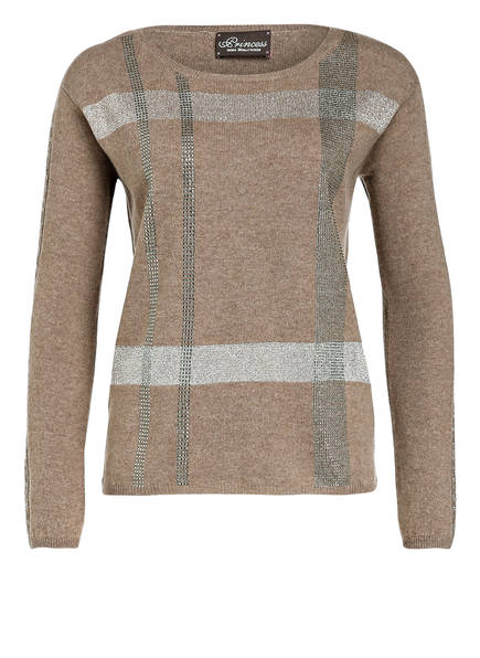 Princess GOES HOLLYWOOD Pullover, Farbe: TAUPE (Bild 1)