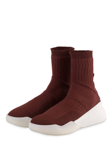 STELLA McCARTNEY Hightop-Sneaker LOOP, Farbe: BRICK (Bild 1)