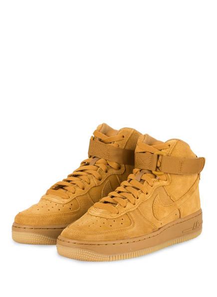 Nike Sneaker AIR FORCE 1, Farbe: HELLBRAUN (Bild 1)