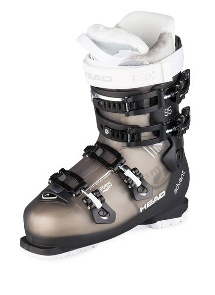 HEAD Skischuhe ADVANT EDGE 95, Farbe: SCHWARZ/ TAUPE (Bild 1)