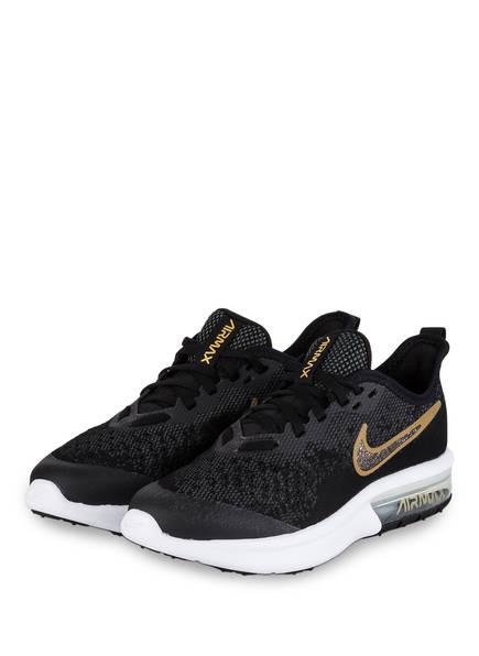 Nike Sneaker AIR MAX SEQUENT 4 SH, Farbe: SCHWARZ/ GOLD (Bild 1)