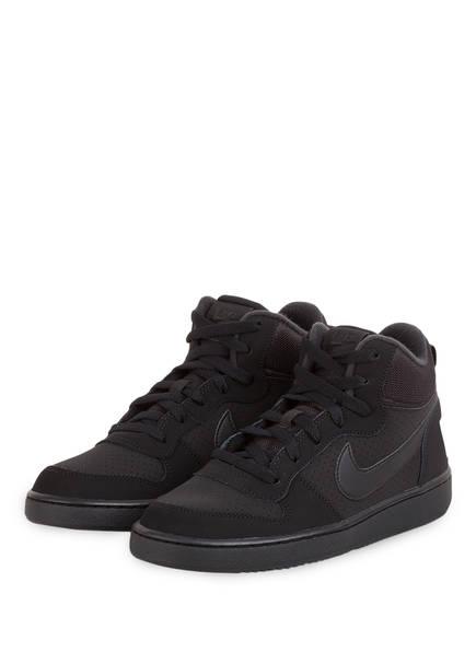 Nike Hightop-Sneaker COURT BOROUGH MID, Farbe: SCHWARZ (Bild 1)
