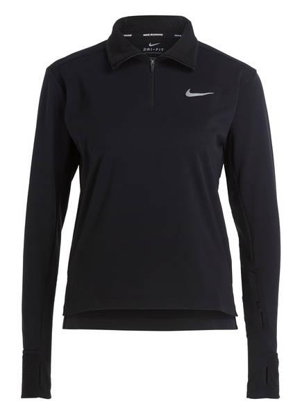 Nike Laufshirt THERMA SPHERE 2.0, Farbe: SCHWARZ (Bild 1)