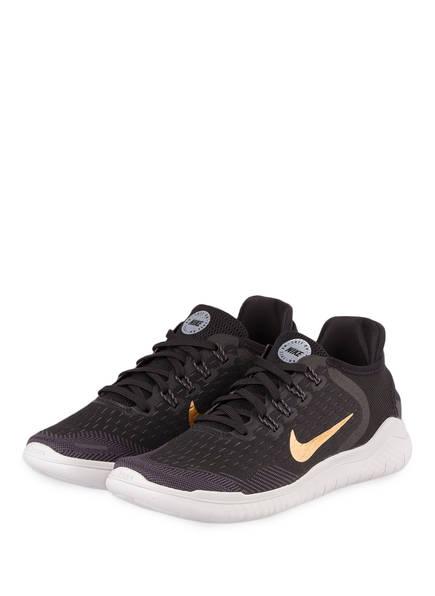 Nike Laufschuhe FREE RN 2018 , Farbe: SCHWARZ/ GOLD (Bild 1)