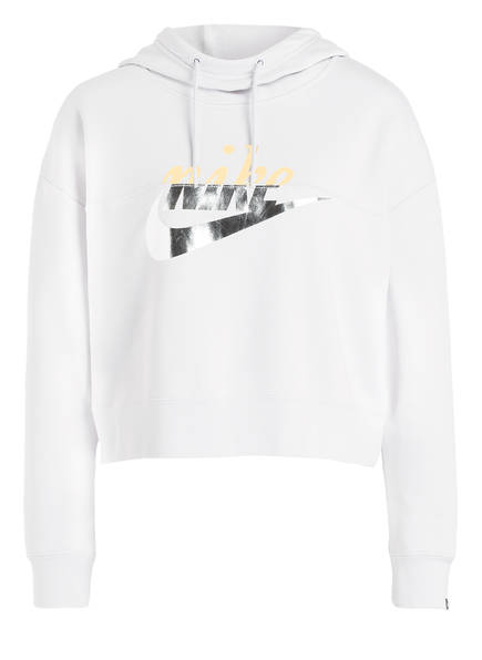 Cropped Hoodie RALLY METALLIC
