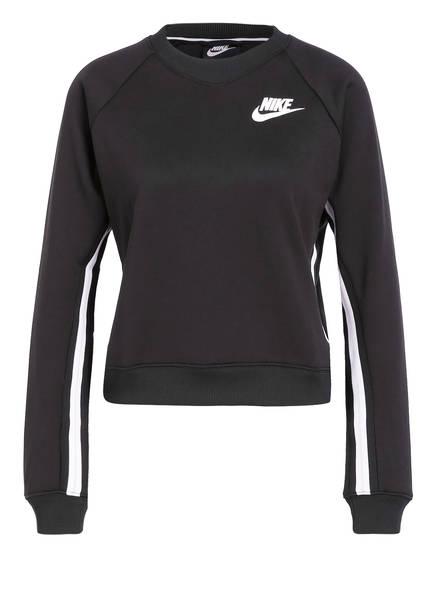 Nike Sweatshirt , Farbe: SCHWARZ/ WEISS (Bild 1)