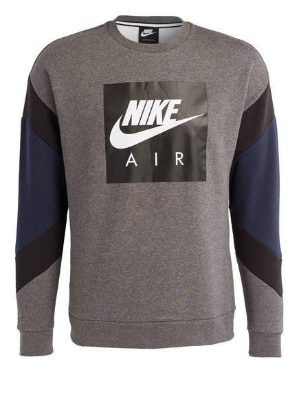 Nike Sweatshirt AIR CREW FLEECE, Farbe: GRAU MELIERT (Bild 1)