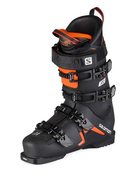 SALOMON Skischuhe S/MAX 100, Farbe: SCHWARZ/ ORANGE (Bild 1)