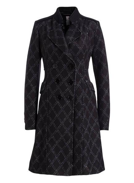 HIGH Mantel FAREWELL, Farbe: SCHWARZ/ WEISS (Bild 1)