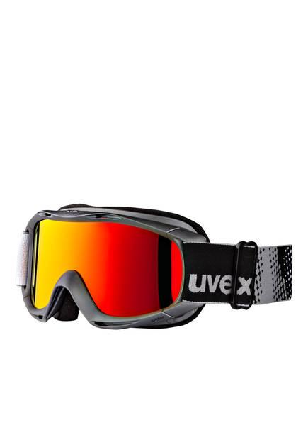 uvex Skibrille SLIDER FM, Farbe: ANTHRAZIT/ ROT (Bild 1)