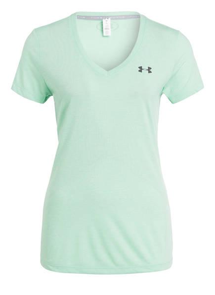 UNDER ARMOUR T-Shirt THREADBORNE TRAIN TWIST, Farbe: MINT (Bild 1)