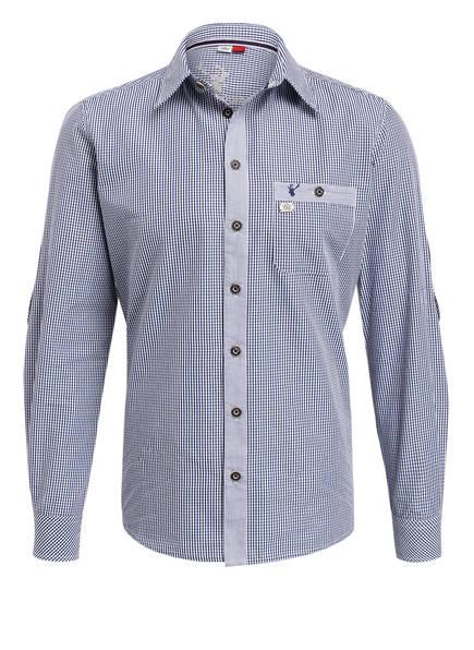 Spieth & Wensky Trachtenhemd , Farbe: DUNKELBLAU/ WEISS KARIERT (Bild 1)
