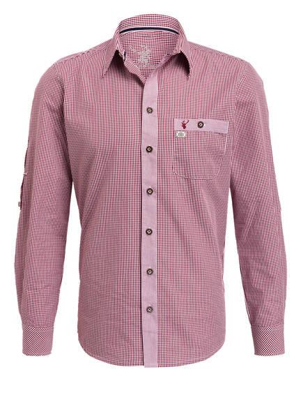 Spieth & Wensky Trachtenhemd , Farbe:  4060877014285DUNKELROT/ WEISS KARIERT (Bild 1)