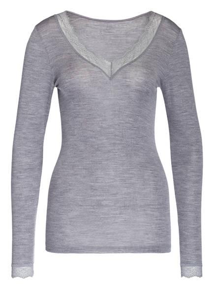 mey Shirt Serie SILK TOUCH WOOL, Farbe: GRAU MELIERT (Bild 1)