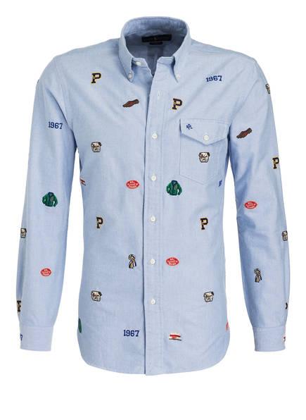POLO RALPH LAUREN Oxford-Hemd Slim Fit, Farbe: HELLBLAU (Bild 1)