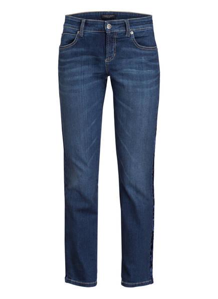 CAMBIO 7/8-Jeans TESS , Farbe: WINTER LIVELY USED BLAU (Bild 1)
