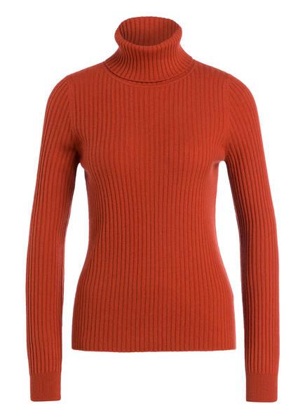REPEAT Cashmere-Rollkragenpullover, Farbe: DUNKELORANGE (Bild 1)