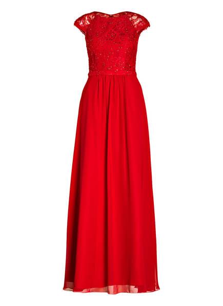 unique Abendkleid mit Stola, Farbe: ROT (Bild 1)