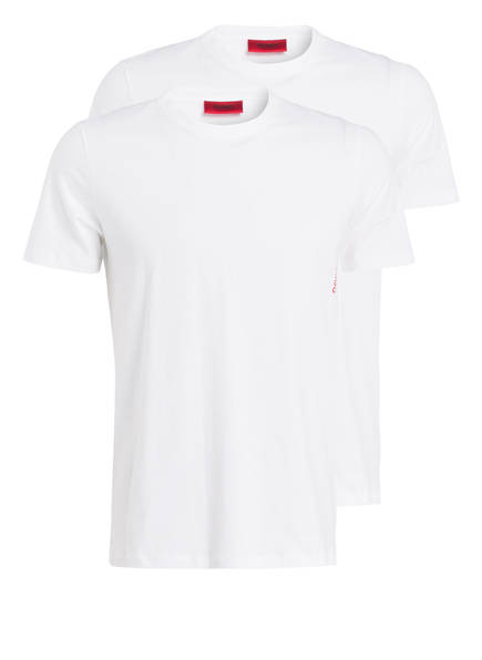 HUGO 2er-Pack T-Shirts, Farbe: WEISS (Bild 1)