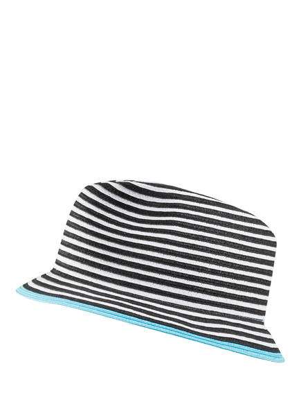 MARCCAIN Bucket-Hat, Farbe: SCHWARZ/ WEISS/ HELLBLAU (Bild 1)