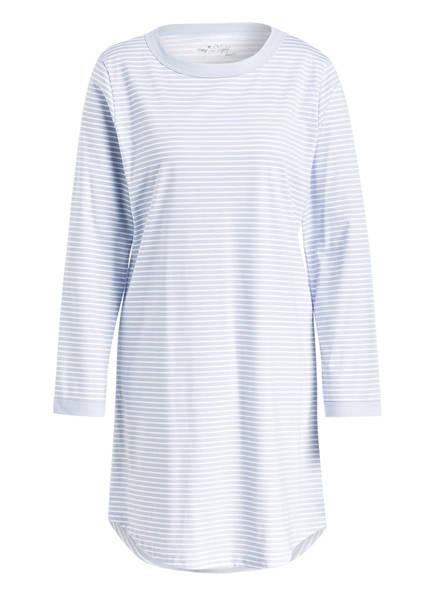mey Nachthemd, Farbe: HELLBLAU/ WEISS GESTREIFT (Bild 1)