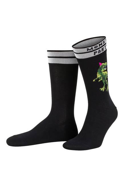 Burlington 3er-Set Socken, Farbe: MINT/ SCHWARZ/ BLAU (Bild 1)