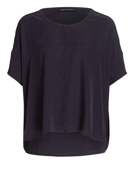 LUISA CERANO Blusenshirt, Farbe: DUNKELBLAU (Bild 1)