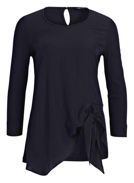 LUISA CERANO Blusenshirt mit 3/4-Arm, Farbe: DUNKELBLAU (Bild 1)