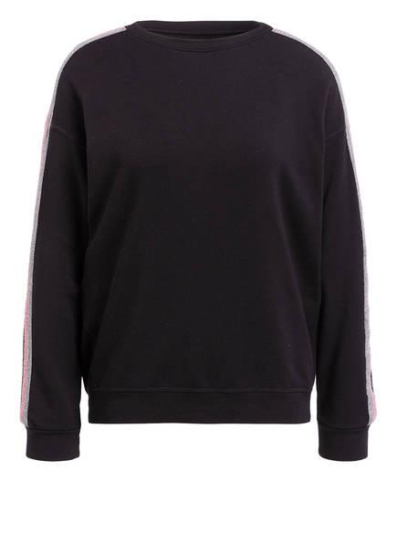 velvet Pullover, Farbe: SCHWARZ (Bild 1)